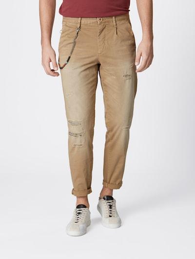 JACK & JONES Spodnie 'JJIACE JJMILTON JOS 420 BEIGE LTD' w kolorze beżowym, Podgląd na modelu(-ce)