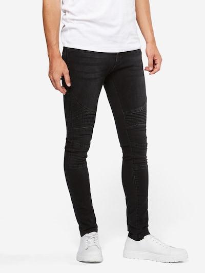 Urban Classics Jeans in de kleur Black denim, Modelweergave