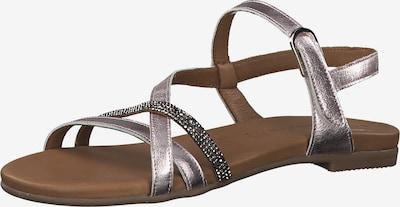 TAMARIS Sandale in rosa / silber, Produktansicht