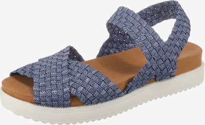 Bernie Mev Sandale 'ETERNAL' in blau / braun / weiß, Produktansicht