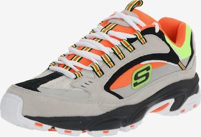 SKECHERS Sneaker 'STAMINA - CUTBACK' in grau / orange, Produktansicht