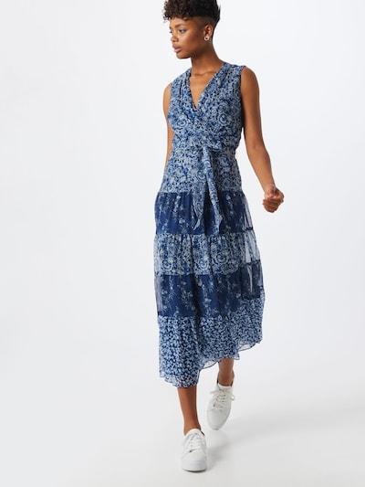 Lauren Ralph Lauren Kleid 'ADNAN' in blau / enzian / weiß, Modelansicht