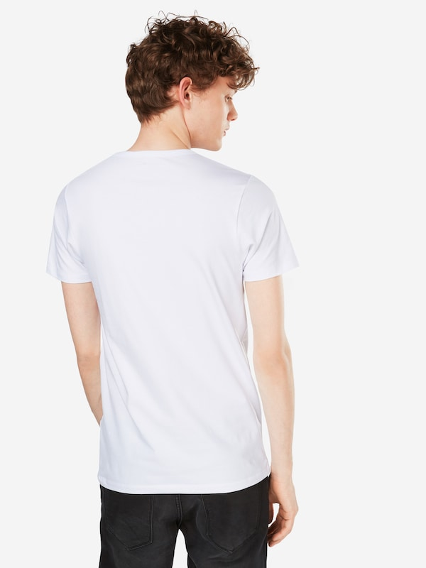 'basic neck Shirt Noos' Jackamp; Tee s S Wit O Jones In PiOTZXku