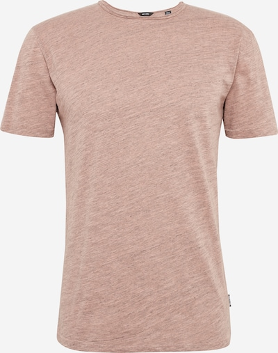 Only & Sons T-Shirt 'Onsalbert' in altrosa: Frontalansicht