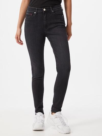 Tommy Jeans Jeansy 'SYLVIA' w kolorze czarny denimm, Podgląd na modelu(-ce)