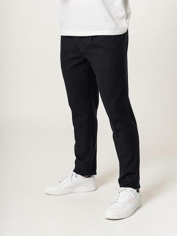DAN FOX APPAREL Chino-püksid 'Malte', värv sinine
