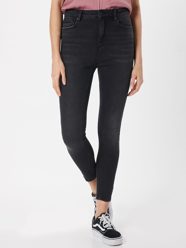 ONLY Jeans 'Mila' in black denim, Modelansicht