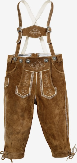 MARJO Overalls in Brown / White, Item view