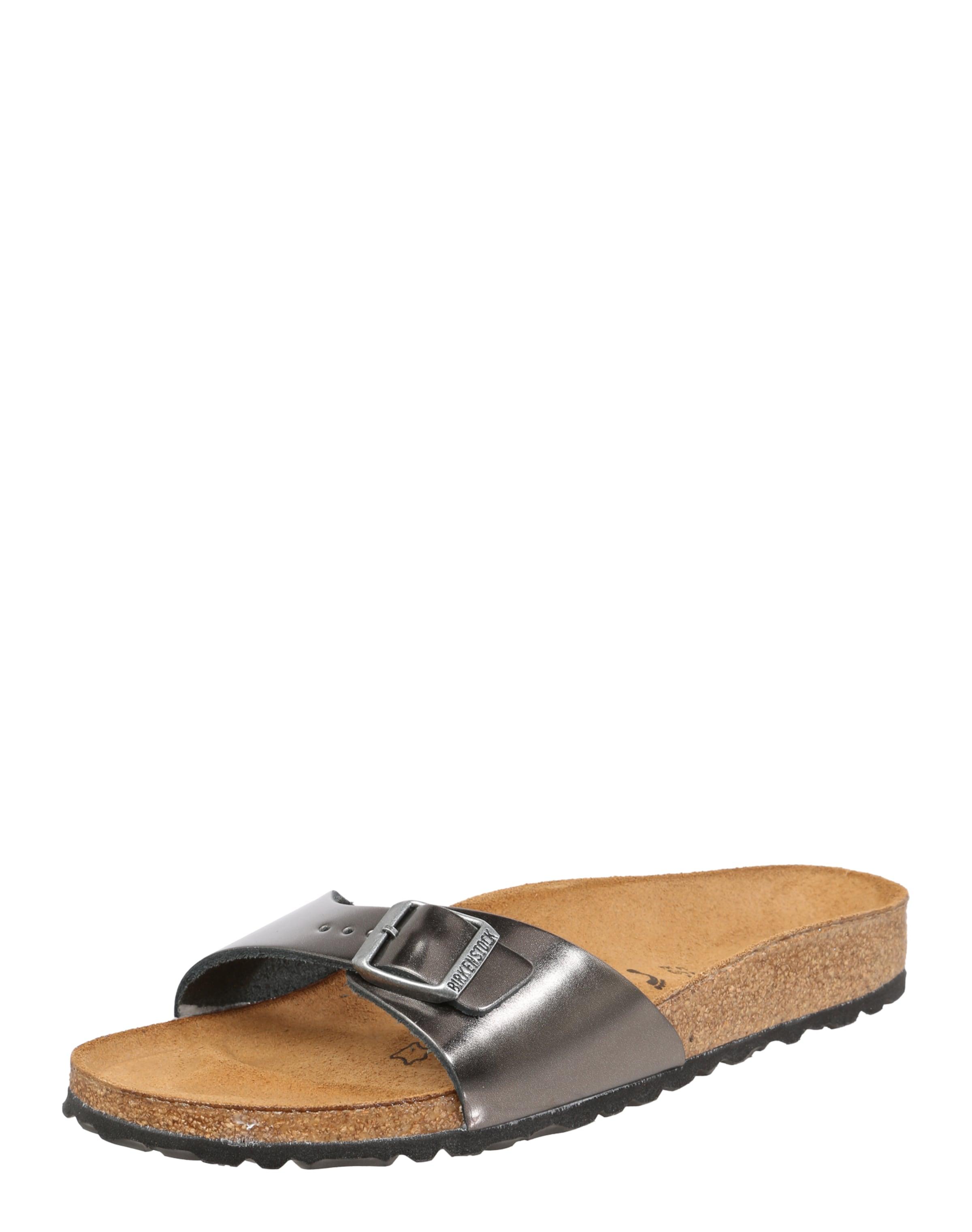 BIRKENSTOCK Sandale  Madrid Metallic