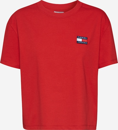 Tommy Jeans Shirt 'TOMMY' in rot, Produktansicht