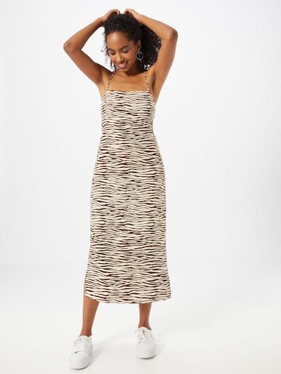 Motel Kleid 'Mirzani' in sand / schwarz, Modelansicht