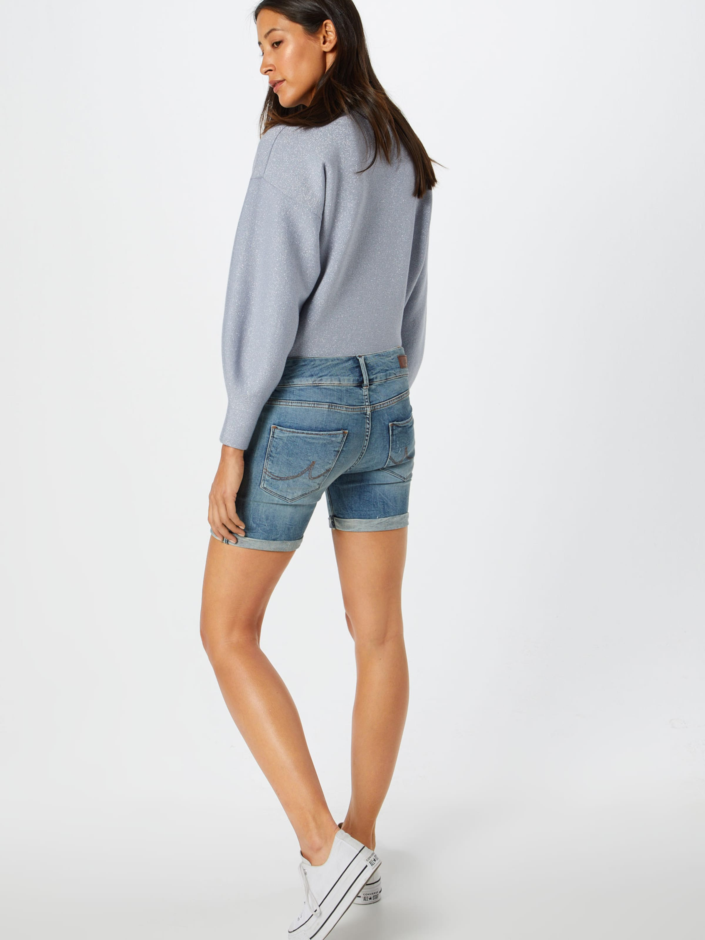 In Blue Denim Shorts Ltb 'becky' BeoQrdWCx