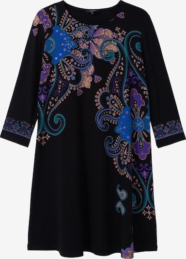 Desigual Šaty - telová / modrá / fialová / čierna, Produkt