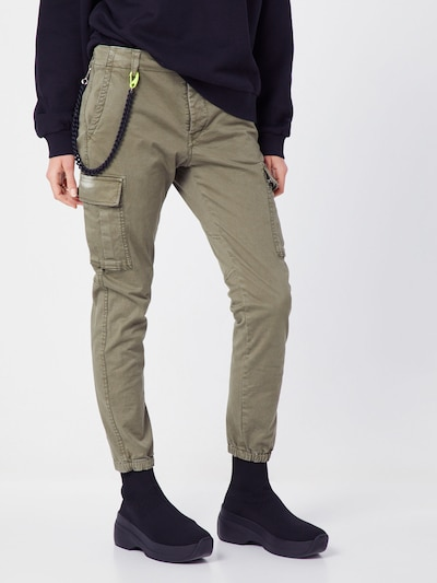 REPLAY Hose in khaki, Modelansicht