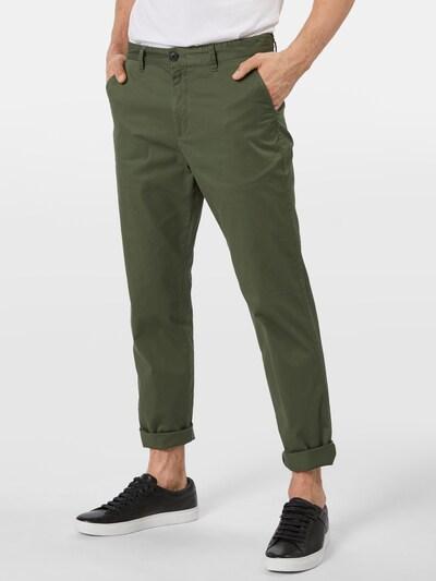 Chino stiliaus kelnės 'Luke' iš SELECTED HOMME , spalva - tamsiai žalia, Modelio vaizdas