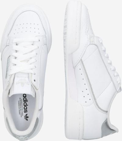 ADIDAS ORIGINALS Sneaker in silber / weiß: Seitenansicht
