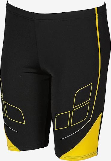 ARENA Badehose in gelb / schwarz, Produktansicht
