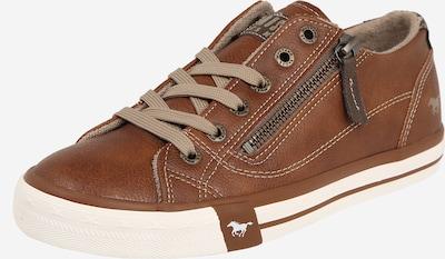 MUSTANG Sneakers in braun / cognac, Produktansicht