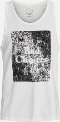 JACK & JONES Shirt in Zwart / Wit