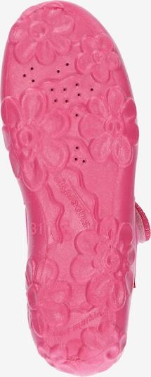 SUPERFIT Schuhe 'Bonny' in helllila / pink / weiß: Ansicht von unten