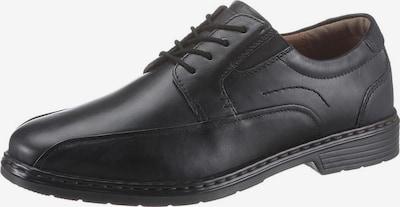 JOSEF SEIBEL Schnürschuh in schwarz, Produktansicht