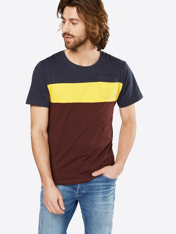 Only & Sons T-Shirt 'onsDON SS STRIPE EXP'