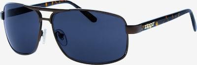 ZIPPO Sonnenbrille small Pilot Brown Flash Black Leopard in blau / braun, Produktansicht