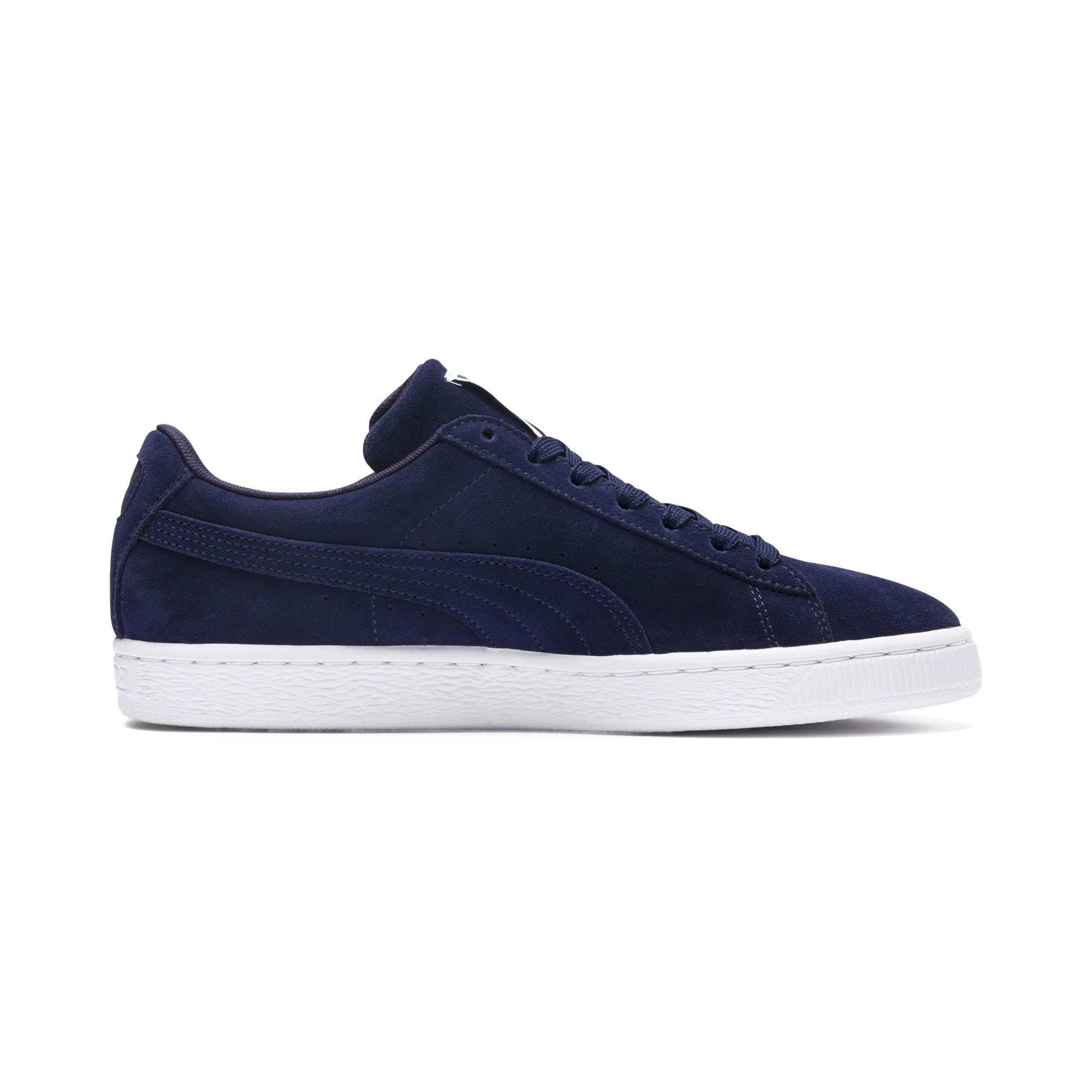 Puma Navy ClassicSneaker In Suede 8OmNv0wn