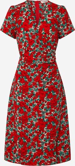 Louche Kleid  'ERINE ZINNIA' in jade / rot / offwhite, Produktansicht