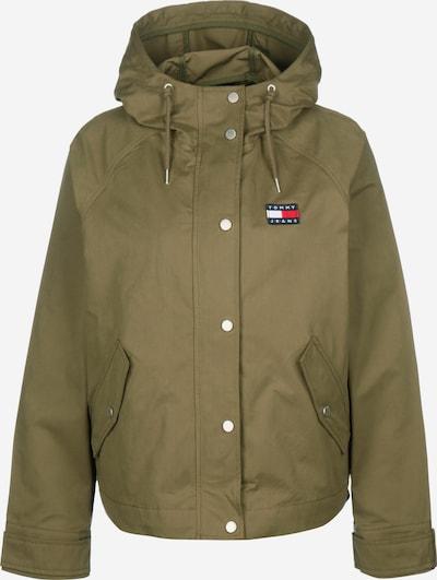 Tommy Jeans Jacke ' Logo Hood W ' in grün, Produktansicht