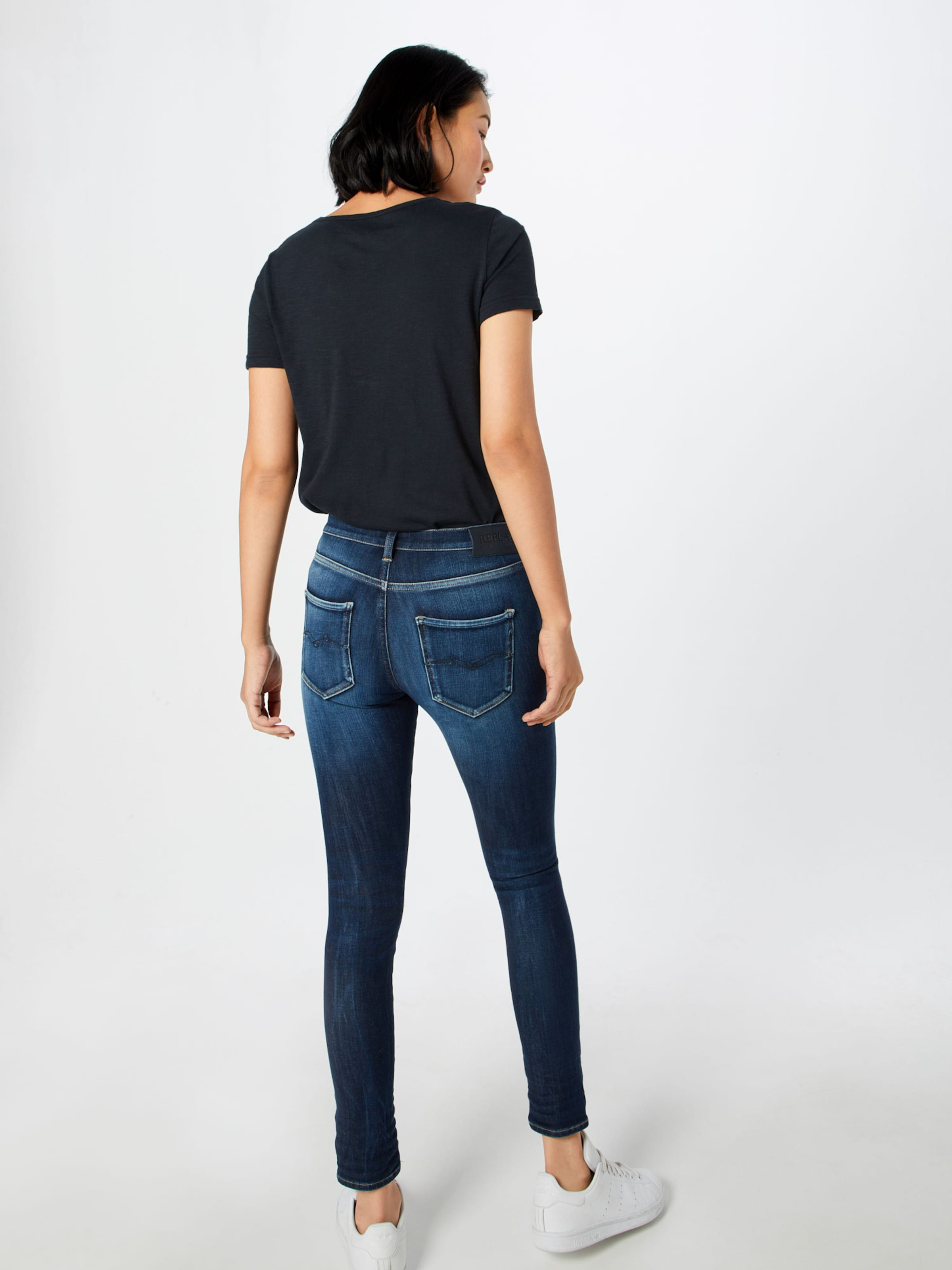 Blue Replay 'stella Hose Denim In Hyperflex' wnOXPk80