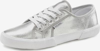 Sneaker low LASCANA pe argintiu / alb, Vizualizare produs