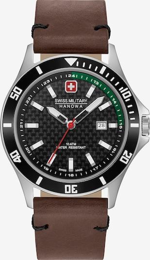 SWISS MILITARY HANOWA Uhr in braun / schwarz, Produktansicht