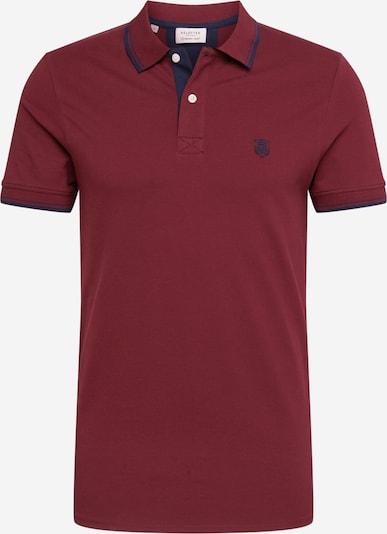SELECTED HOMME T-Shirt en lie de vin, Vue avec produit