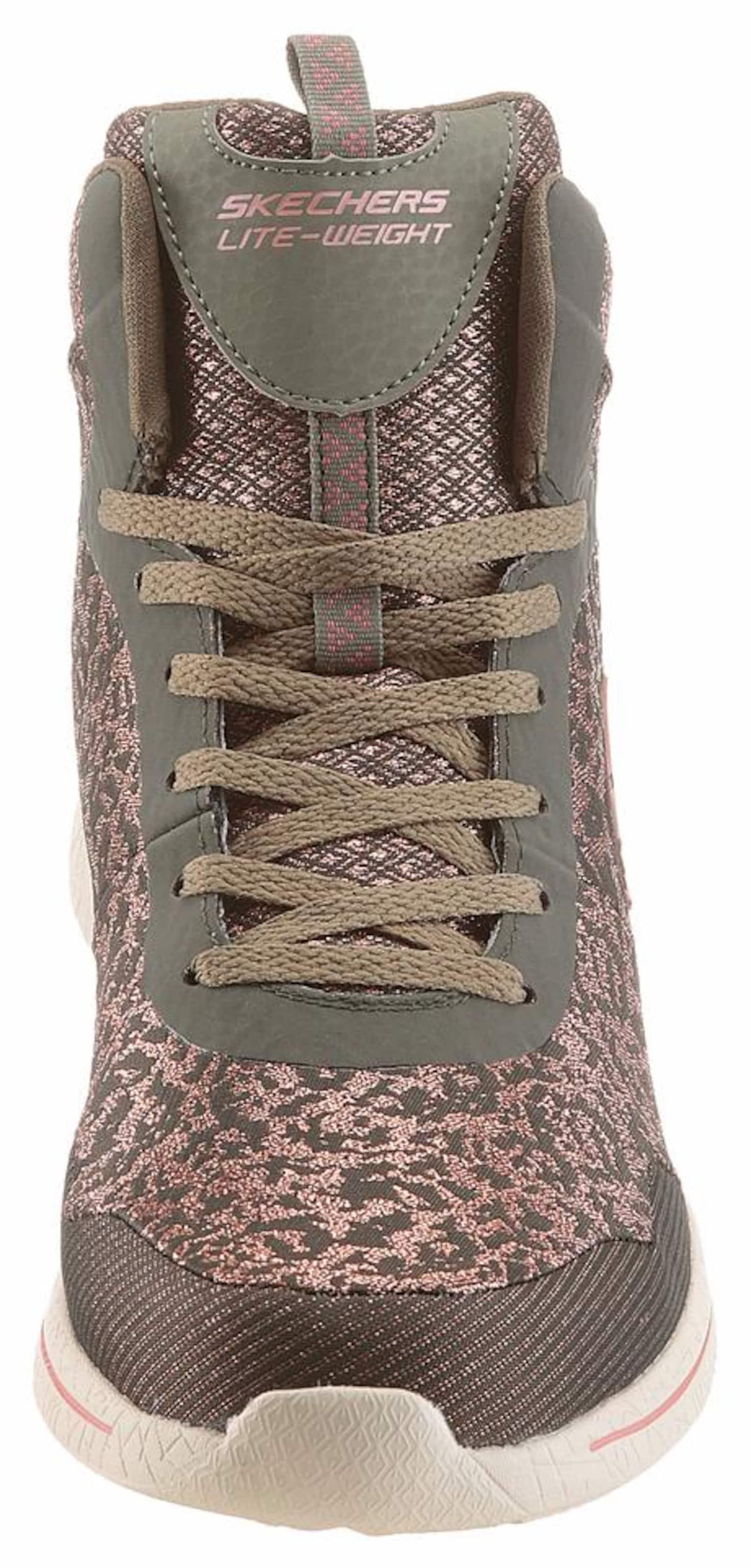Skechers 2 Forwad' In Fashion 'burst 0 BraunmeliertBronze Sneaker Oliv v08wNymnO