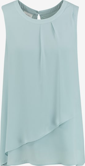 GERRY WEBER Bluse ohne Arm Blusentop mit Überwurf in blau, Produktansicht