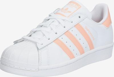 ADIDAS ORIGINALS Sneaker 'Superstar' in apricot / weiß, Produktansicht