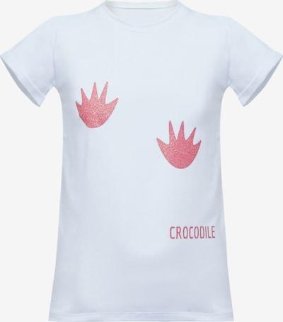 MYMO T-Shirt in pink / weiß, Produktansicht