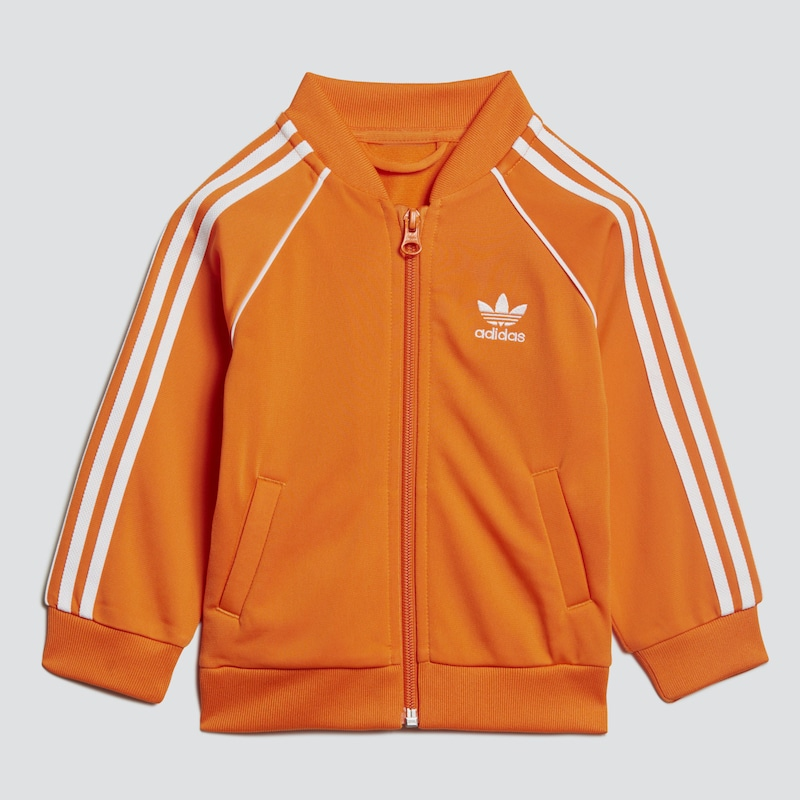 ADIDAS ORIGINALS Jogginganzug in orange weiß   ABOUT YOU