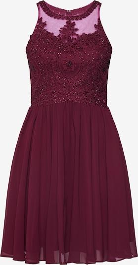 Rochie de cocktail Laona pe roșu cireș: Privire frontală