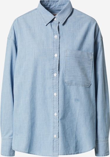 LEVI'S Bluse 'THE RELAXED SHIRT' in blue denim, Produktansicht