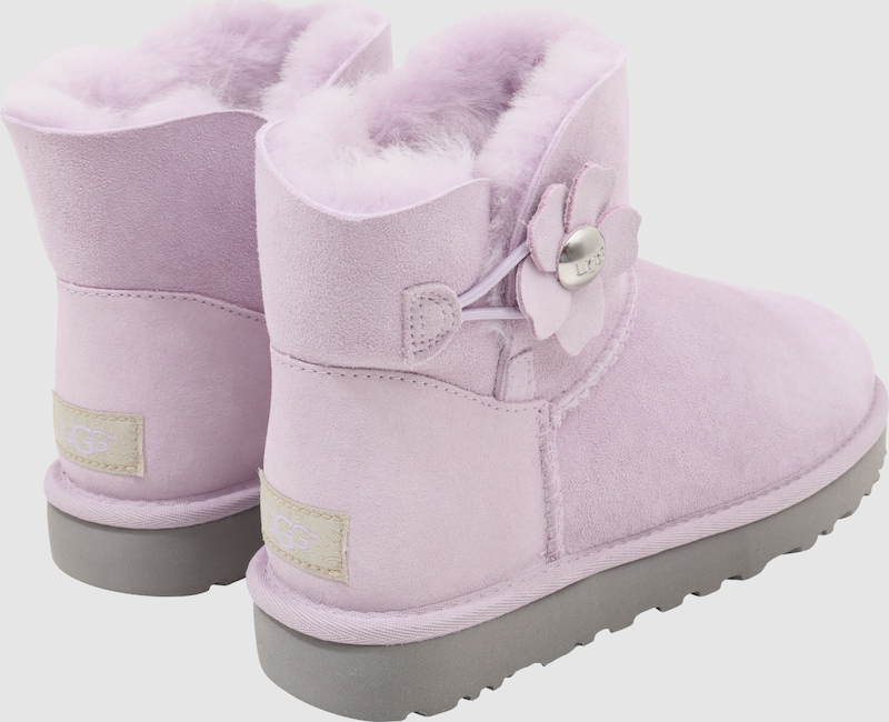 UGG Snowoots 'Mini Bailey Button Poppy'