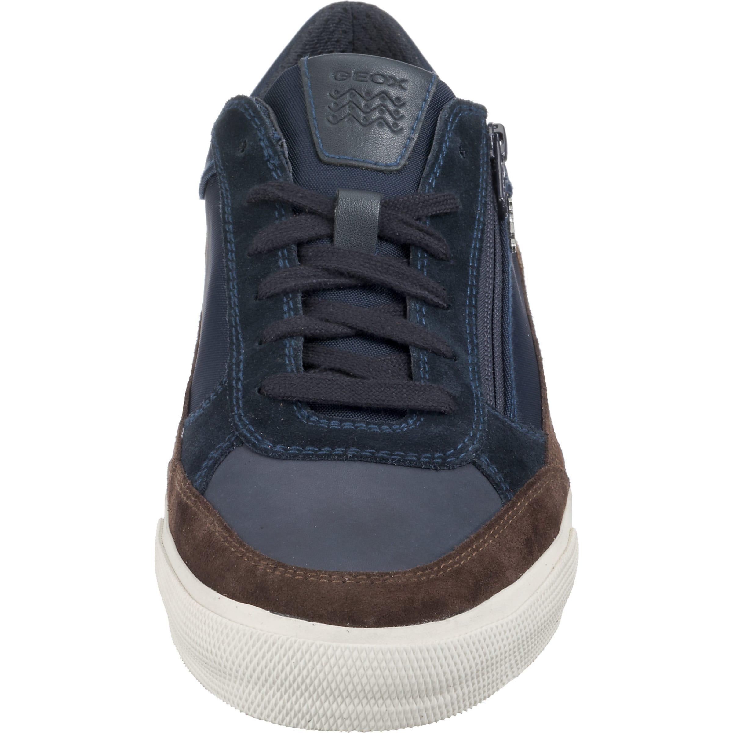 Geox Geox In Hellbraun DunkelblauKastanienbraun Sneakers Sneakers mwN80n