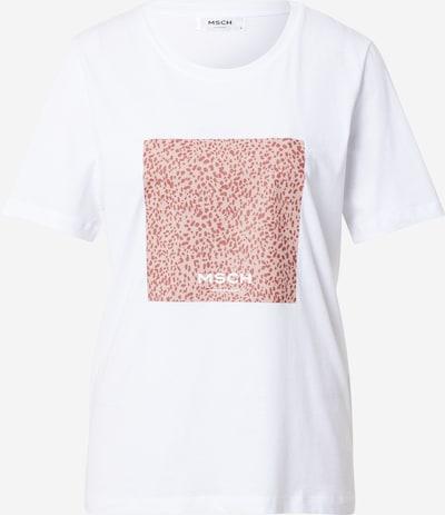 MOSS COPENHAGEN Tričko 'Alva' - růžová / bílá, Produkt