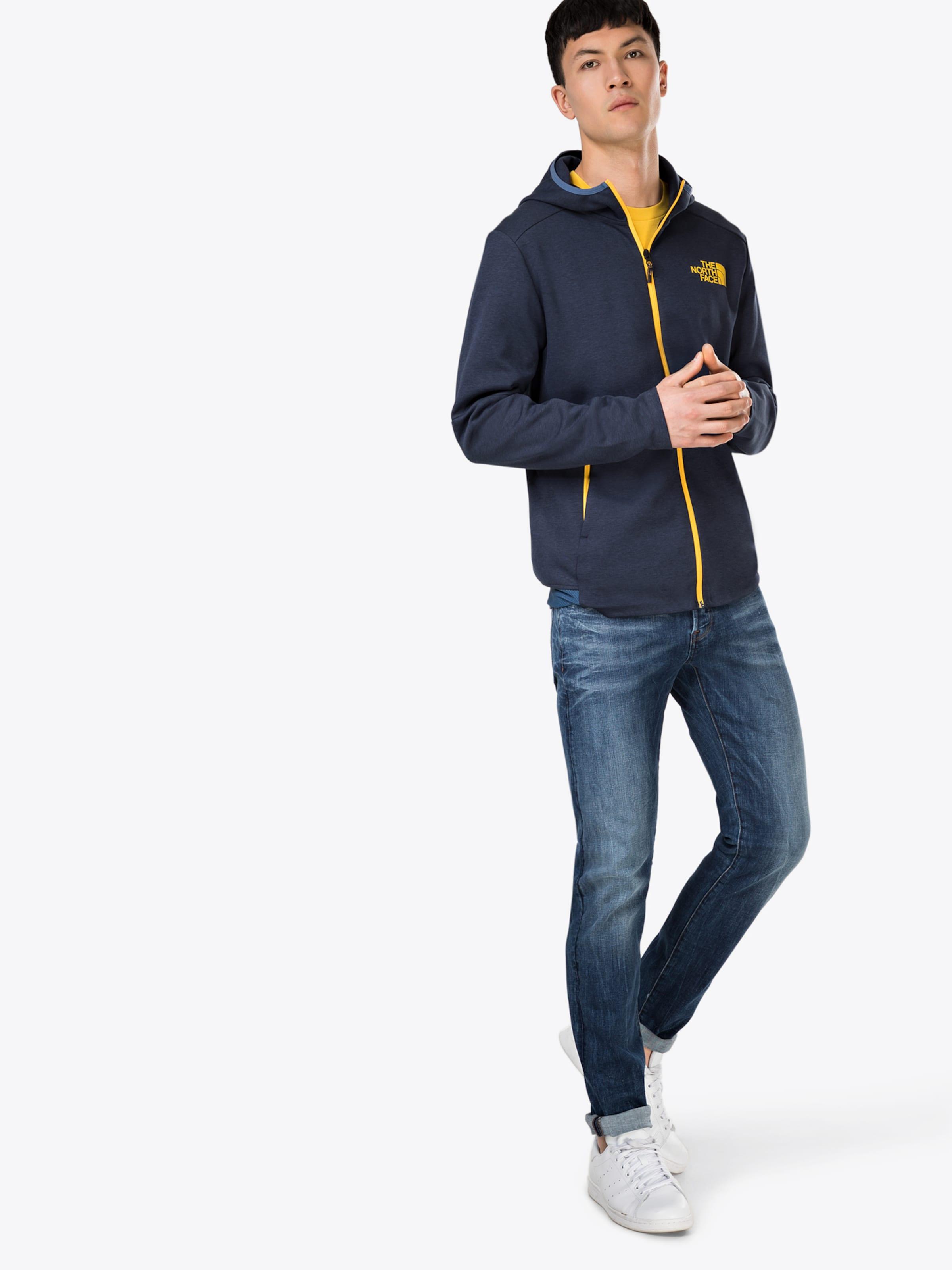 The North Hood' BlauGelb Tek Vista Fullzip Face 'men's Jacke In NnP80XOkZw