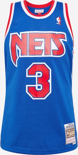 Mitchell & Ness Shirt 'NBA NETS - D.Petrovic' in de kleur Royal blue/koningsblauw / Rood, Productweergave