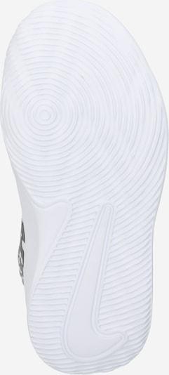 NIKE Chaussure de sport en blanc: Vue de dessous