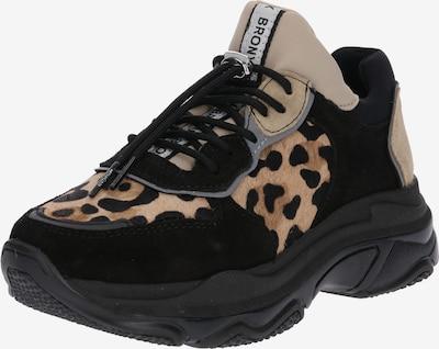 BRONX Sneaker 'Baisley' in braun / schwarz, Produktansicht