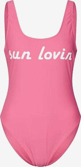 ABOUT YOU X Sarina Nowak Badeanzug 'COSIMA' in pink, Produktansicht