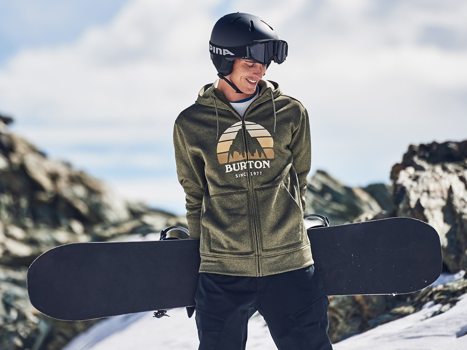 Snowboard Guide Sweater
